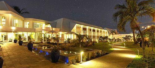 Villa delisle by night
